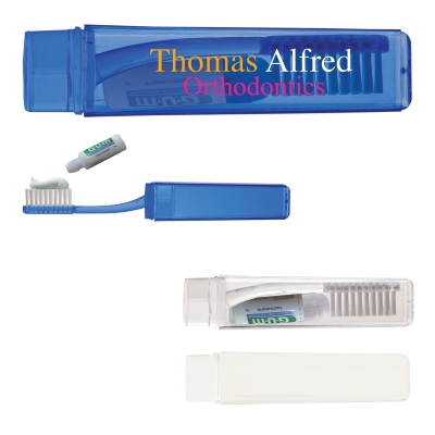 Travel Toothbrush with Toothpaste