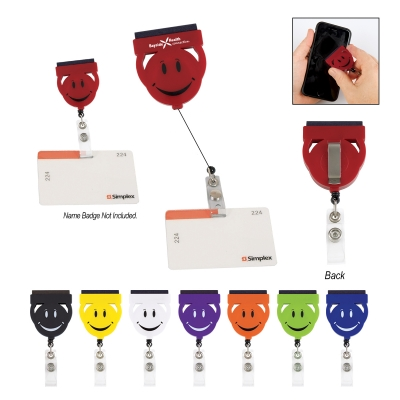 Screen Buddy Retractable Badge Holder
