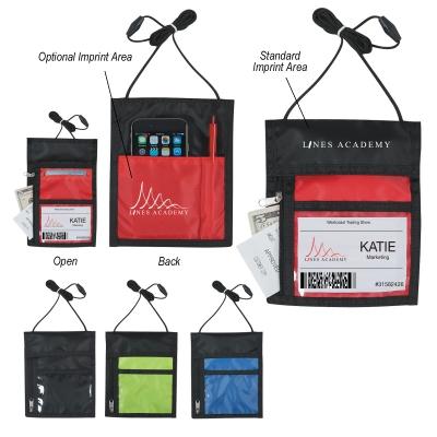 Neck Wallet Badge Holder