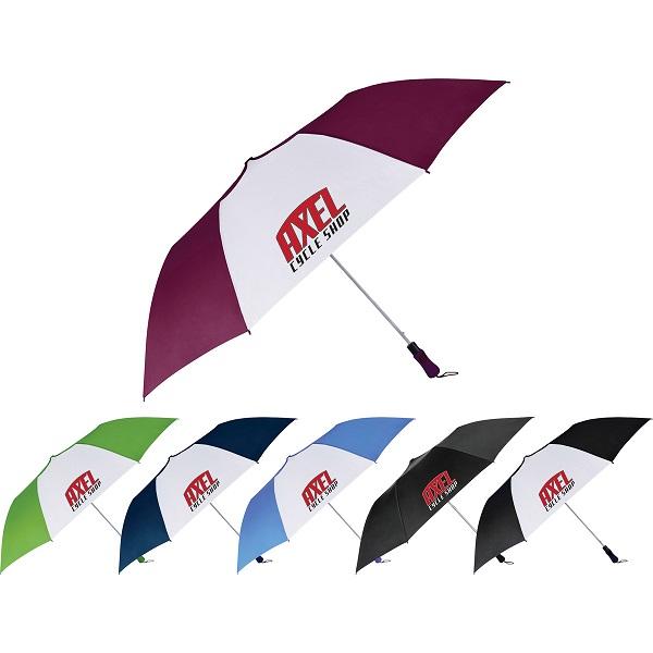 55'' Auto Open Folding Golf Umbrella