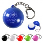 Lip Moisturizer Ball Key Chain