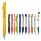 Twin-Write Pen with Highlighter
